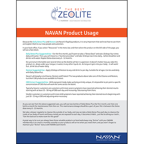 Navan Product Usage