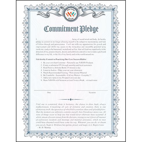 Commitment Pledge