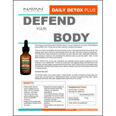 Daily Detox Plus - Defend Your Body