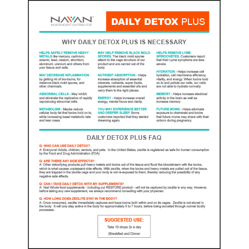 Why Daily Detox Is Necessary